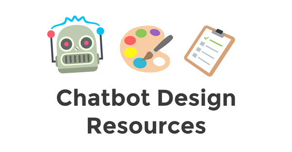 Chatbot Design Resources Header Image