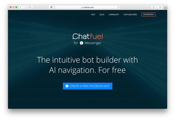 Chatbot Builder Chatfuel