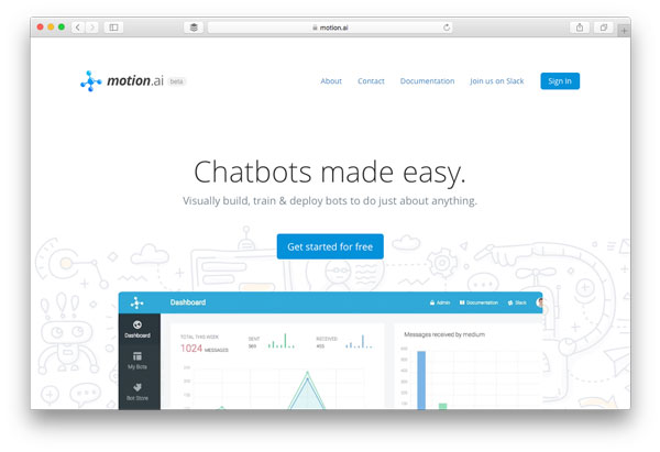 Chatbot Builder Motion.ai