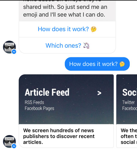Facebook Messenger Gallery: Elements and Image Dimensions