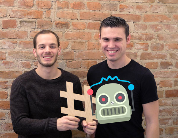 Photo of the team behind Chatbot Academy