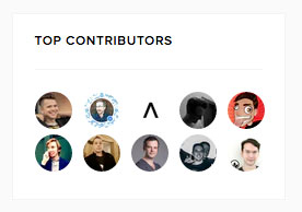Top Contributors for Bots on Product Hunt